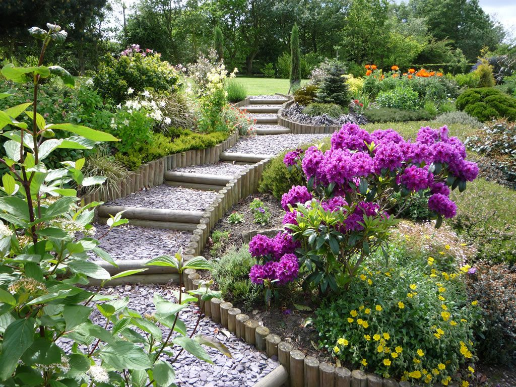 Landscape Gardeners in Cheshire work